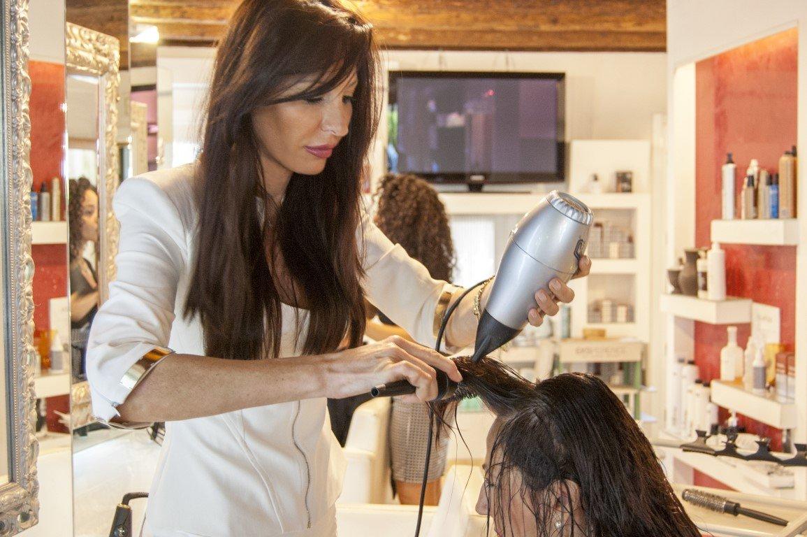 Salone Parrucchiere Glamour piega